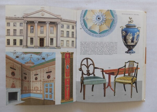 Pagina uit boek Kunststijlen in kleur