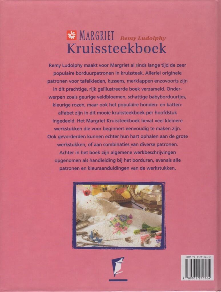 Achterkant Margriet kruissteekboek