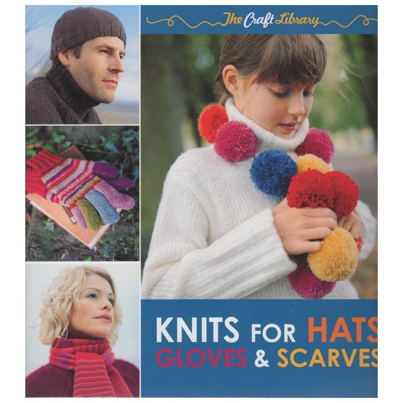 Boek Knits for hats gloves and scarves
