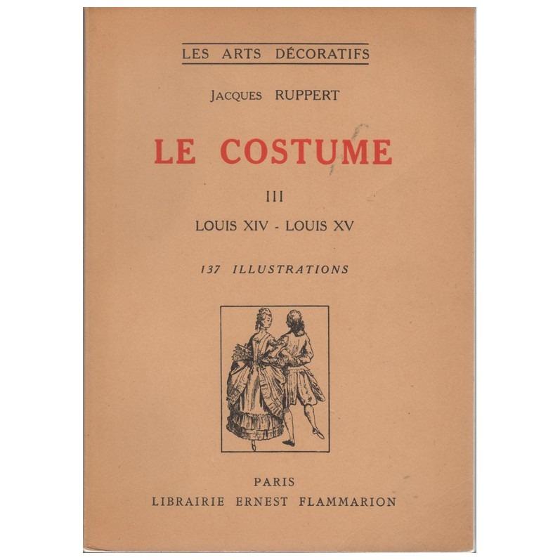 Boek Le Costume III