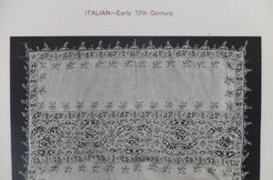 Italiaans borduurwerk 17e eeuw