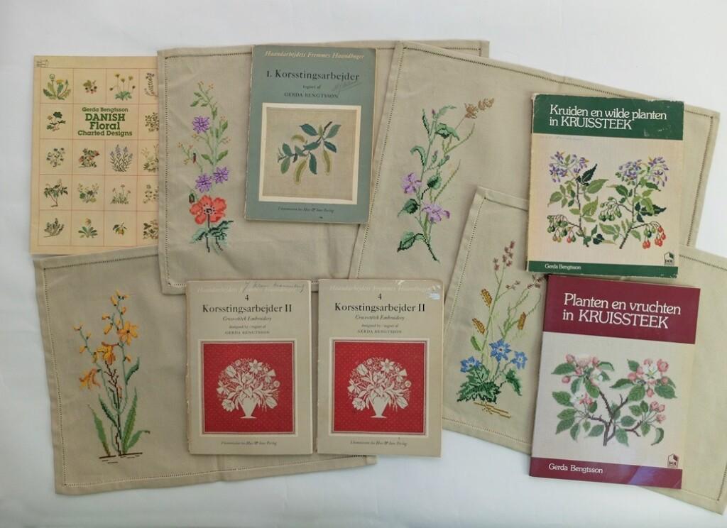 Kruiden en planten borduren