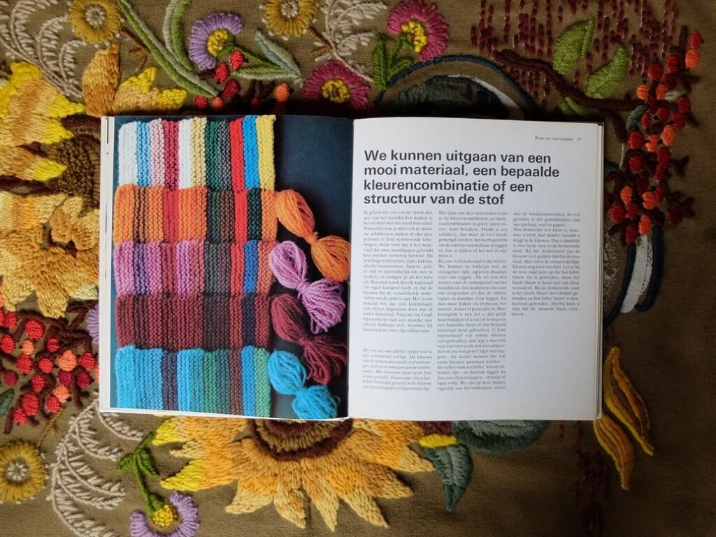 Pagina uit boek Wandkleden maken