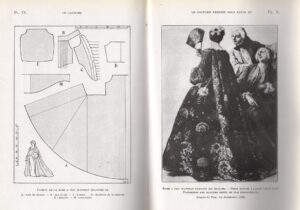 Pagina uit- boekje le Costume
