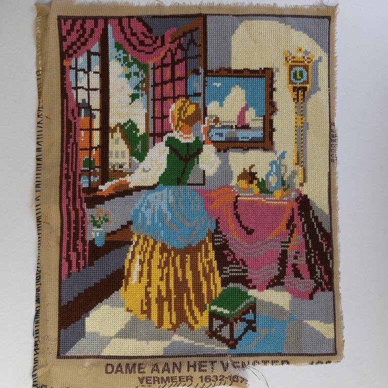 Tapisserie Dame aan het venster