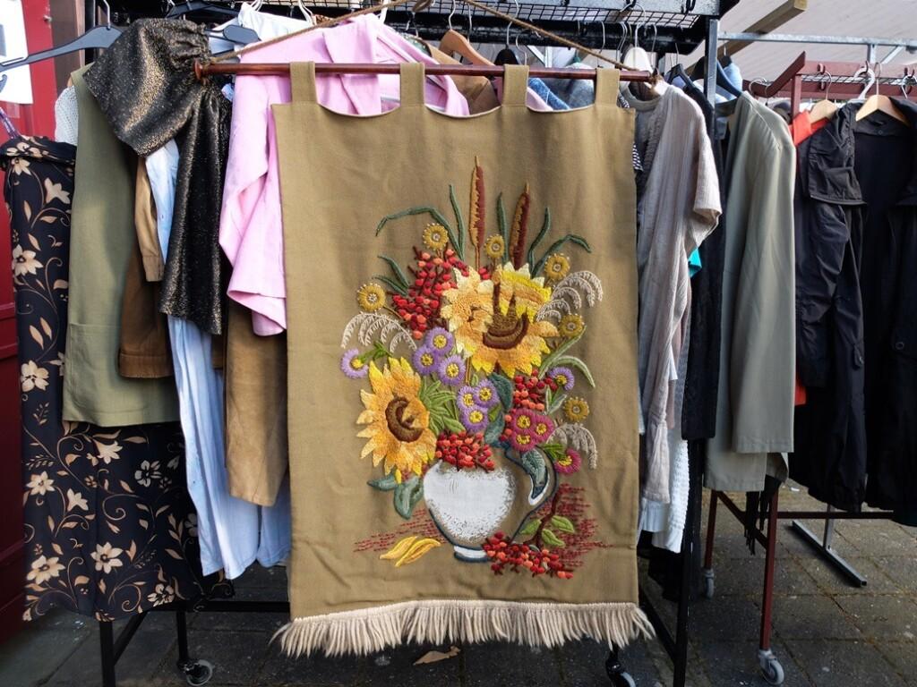 Wandkleed zonnebloemen