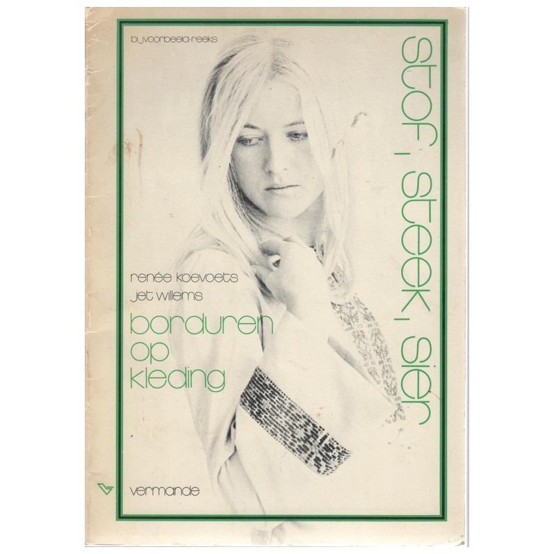 Boek Borduren op kleding