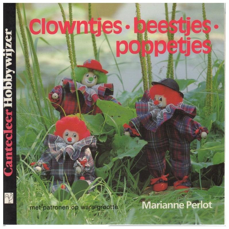 Boekje clowntjes beestjes poppetjes