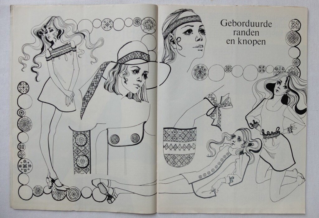 Tekening uit Ariadne 1970