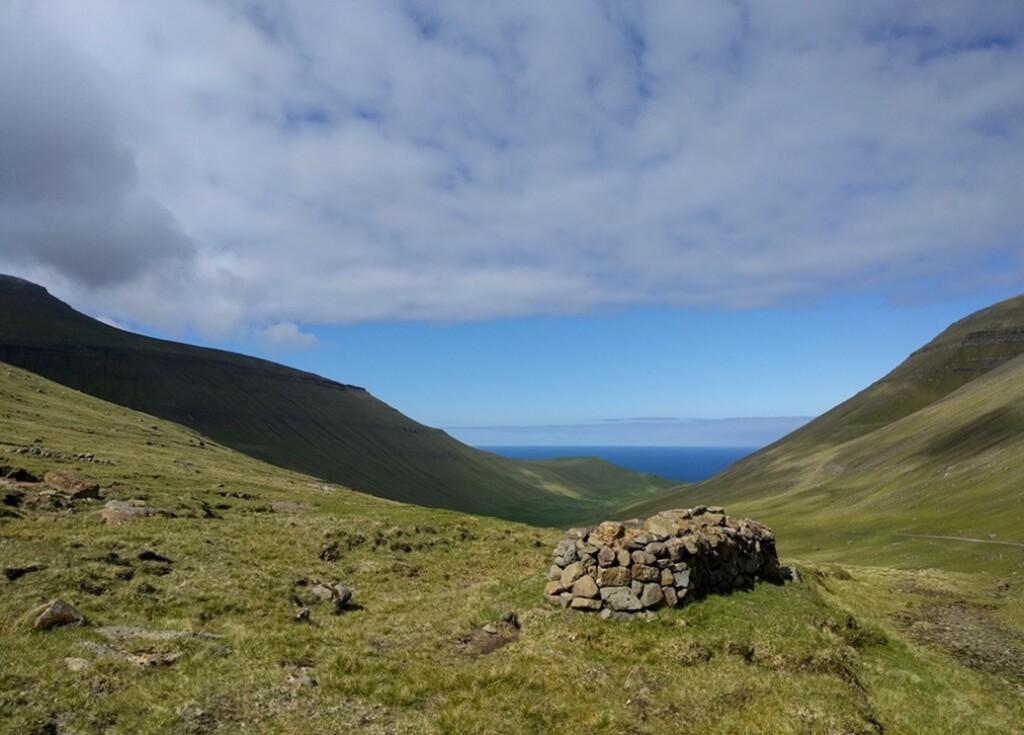 Uitzicht op Faroër island