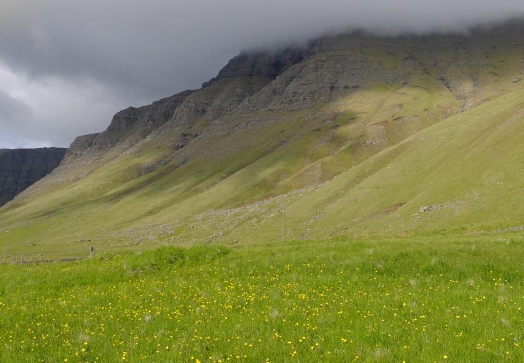 Bergen op Faroer islands