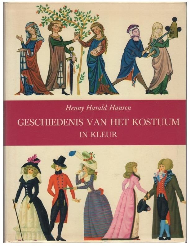 Boek Geschiedenis van het kostuum