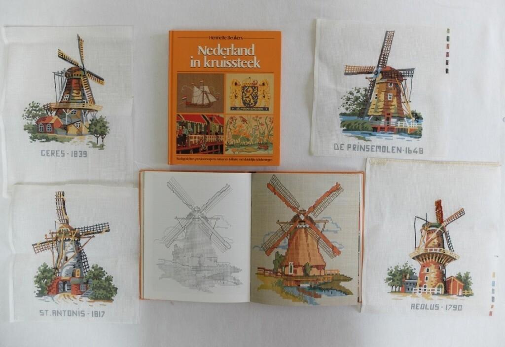 Boek Nederland in kruissteek