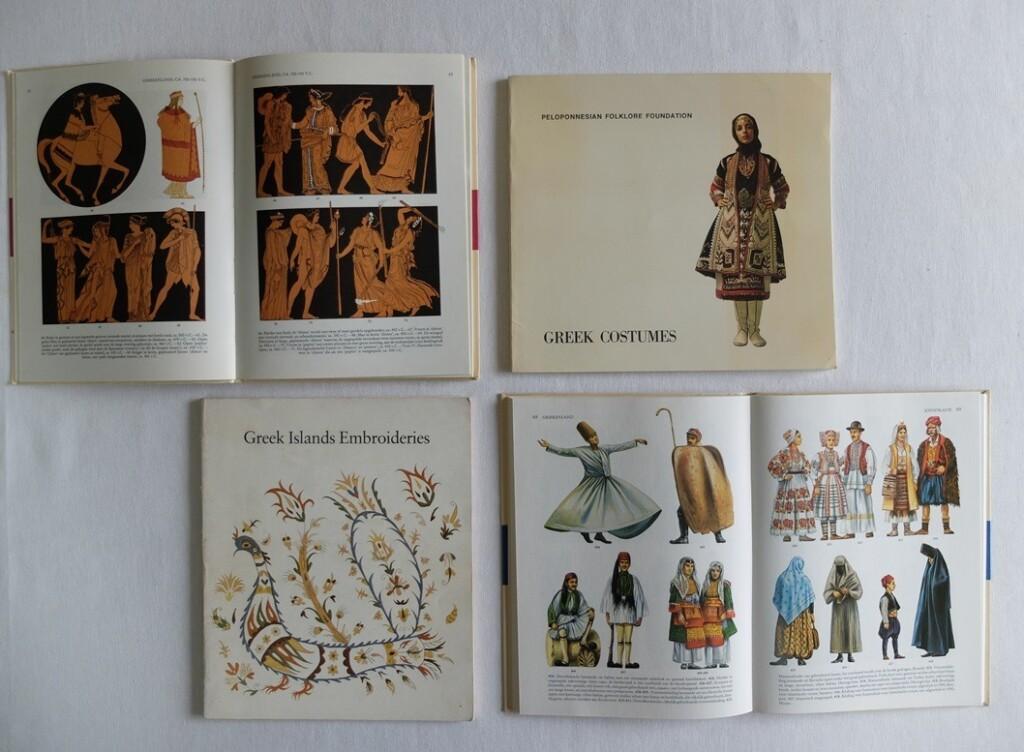 Boeken over Griekse klederdrachten