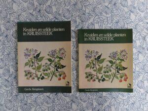 Boeken planten en wilde kruiden in kruissteek