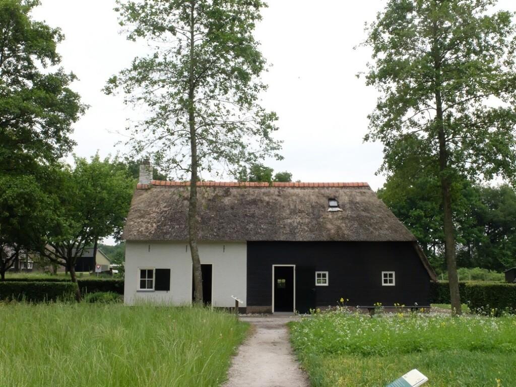 Huisje in museum Frederiksoord