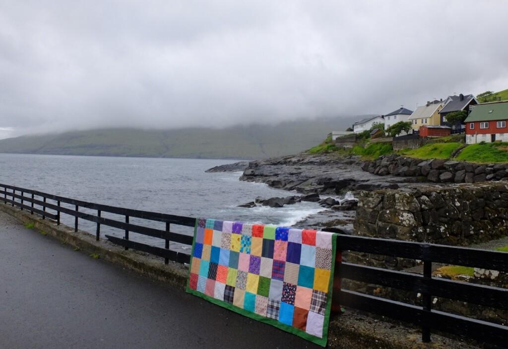 Lappendeken op Faroër island