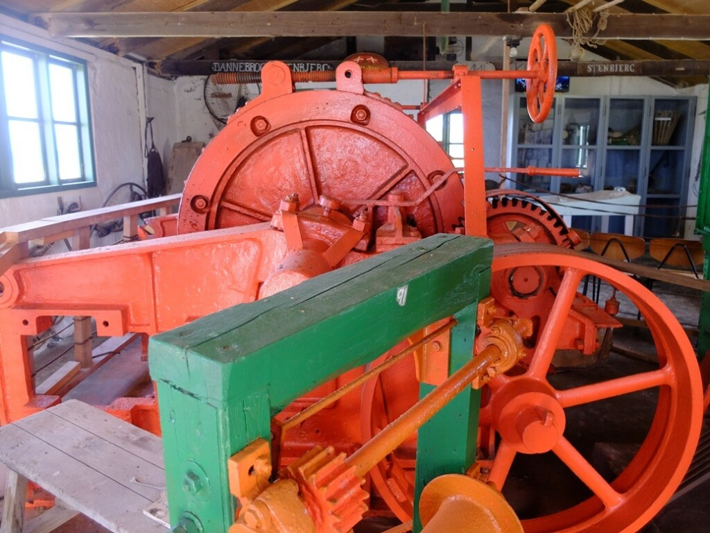 Machines oranje
