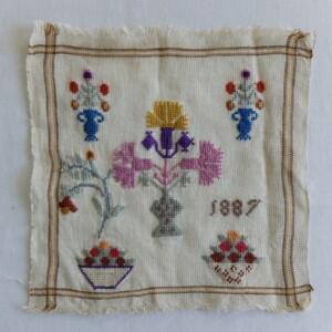 Oud merklapje 1887