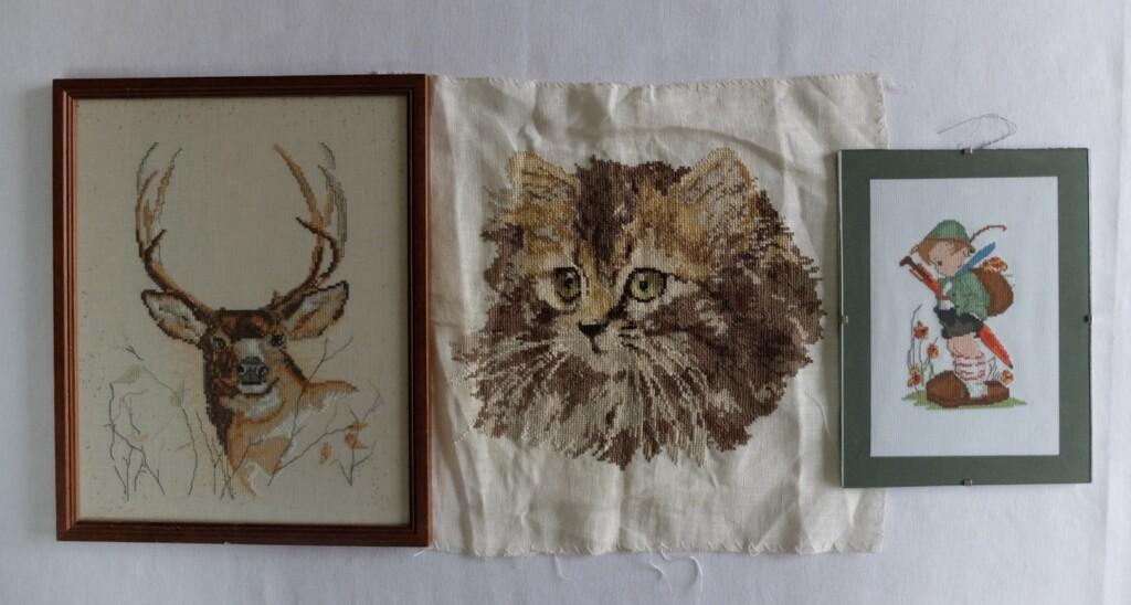 Oude borduurwerkjes