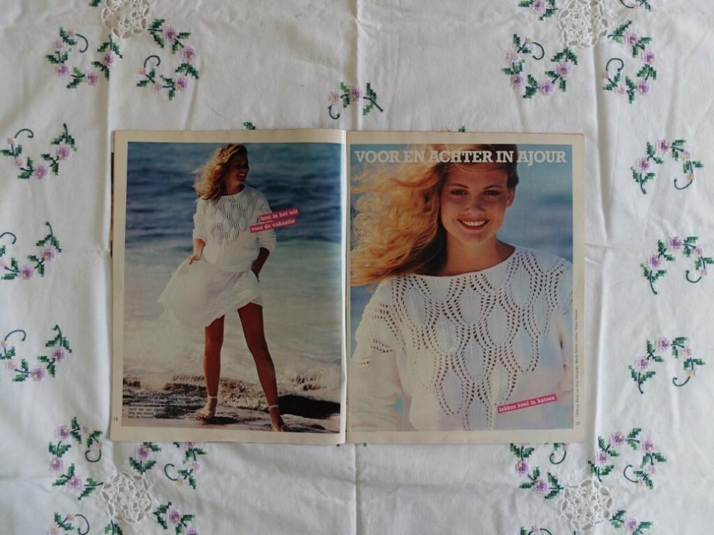 Patroon trui ajour Ariadne juni 1981