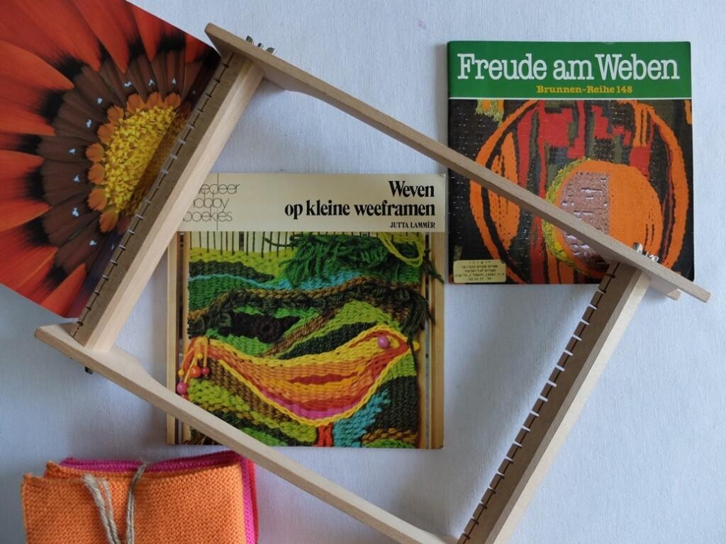 kleine boekjes over weven