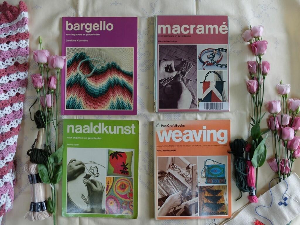 Vier handwerkboeken