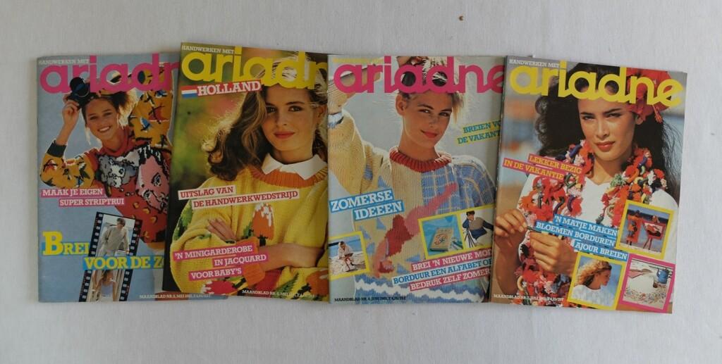 Vier oude Ariadnes
