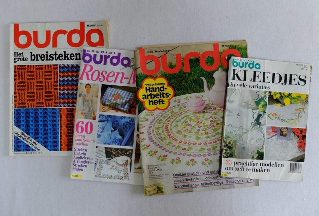 Vier thema tijdschriften Burda