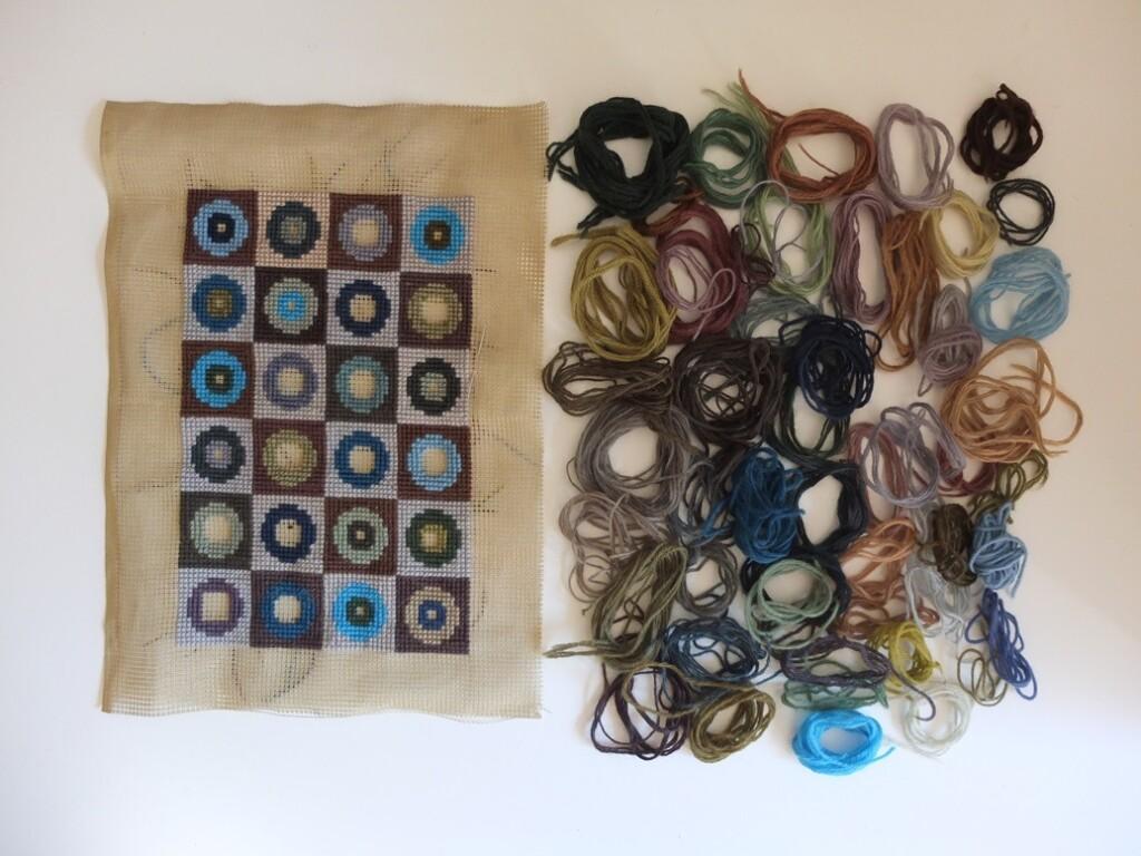 materiaal voor borduurwerkje