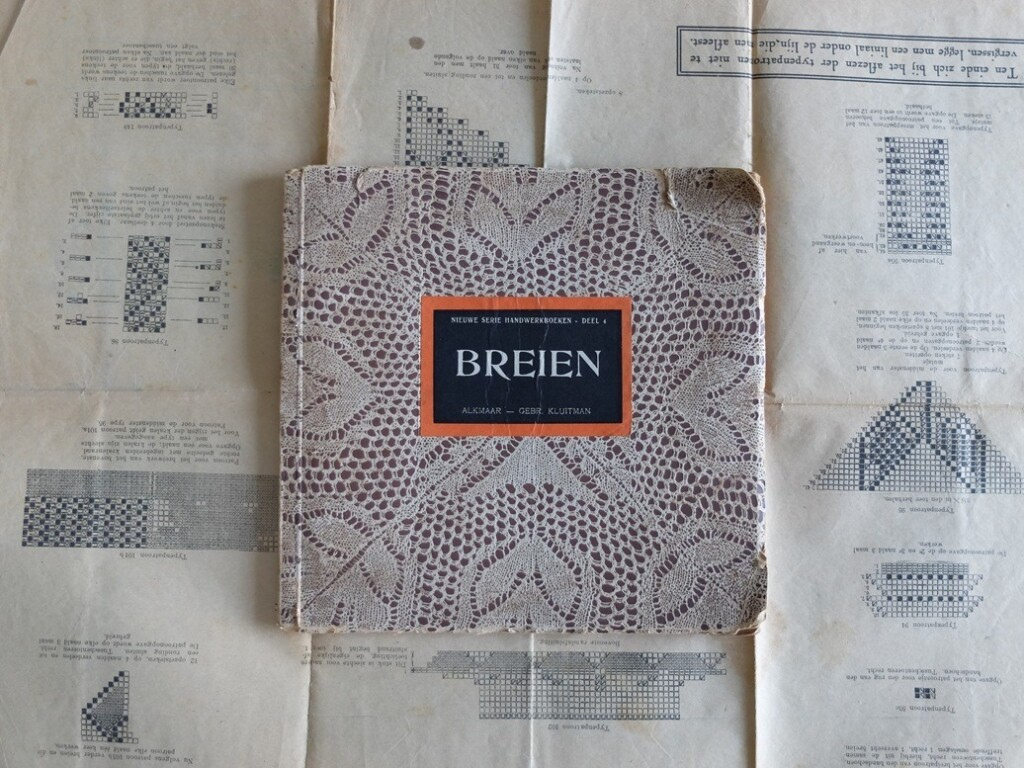 oud breiboekje van Wessem