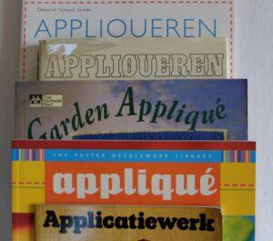 Boeken appliqueren