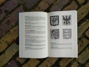 Boekje kruissteekjes wapenschilden