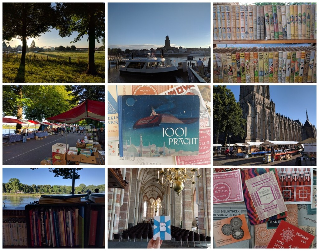 Foto's Deventer boekenmarkt