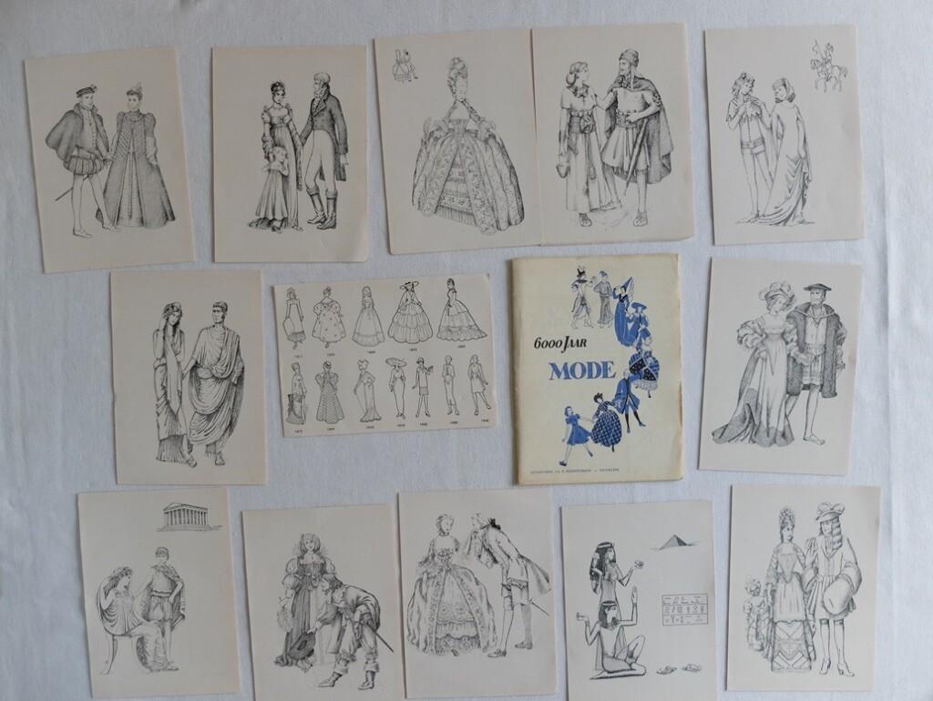 Illustraties 6000 jaar mode