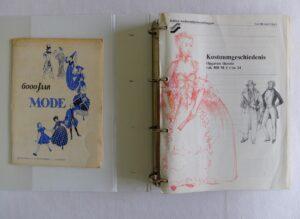 Mappen kostuumgeschiedenis