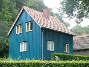 Noors huisje in Openluchtmuseum
