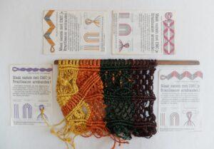 Patronen voor Braziliaanse macramé armbanden