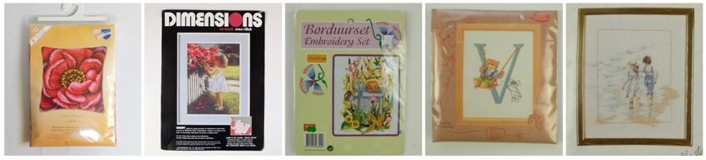 collage borduurpakketten