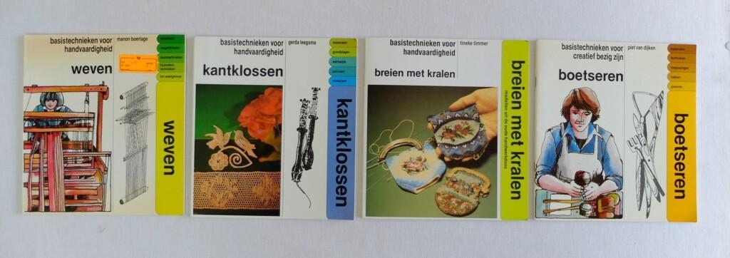 Boeken met basistechnieken creatief
