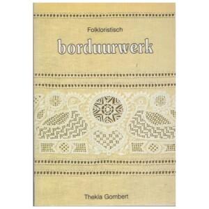 Boekje folkloristisch borduurwerk