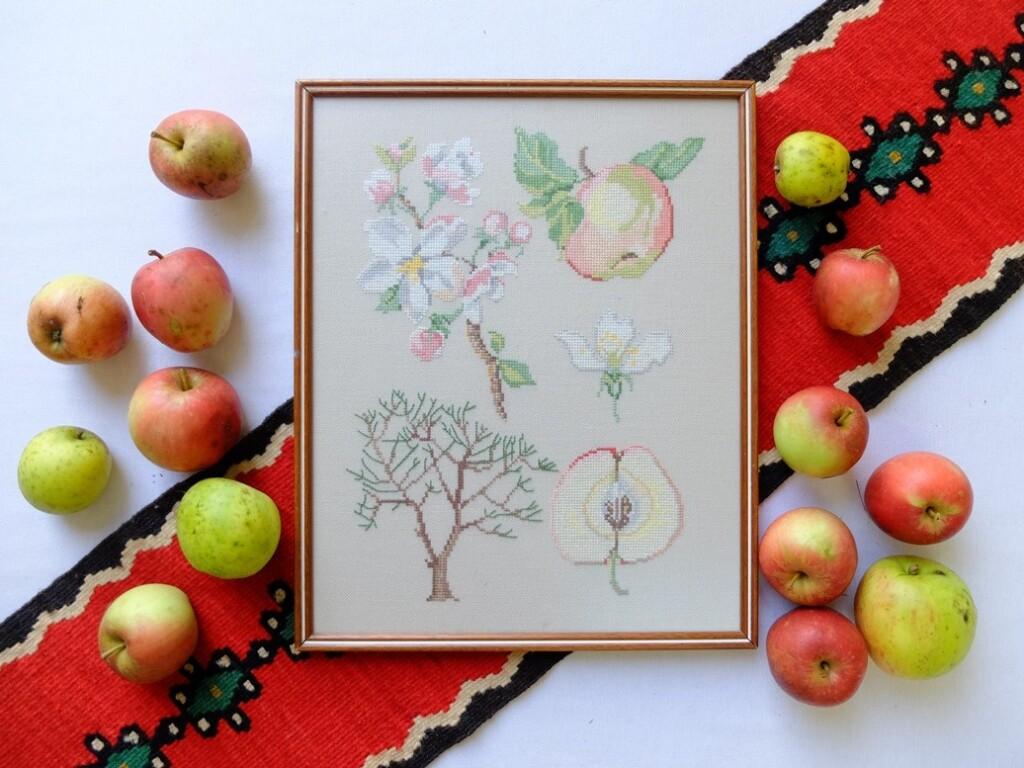 borduurwerk appels