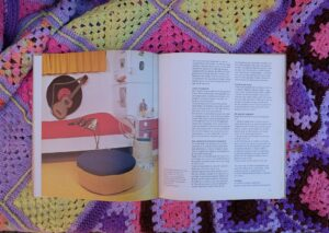 pagina uit boek haken