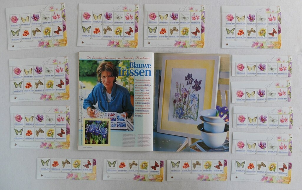 Postzegels JannekeBrinkman