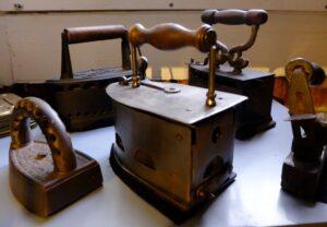 Strijkbouten in museum Rijssen