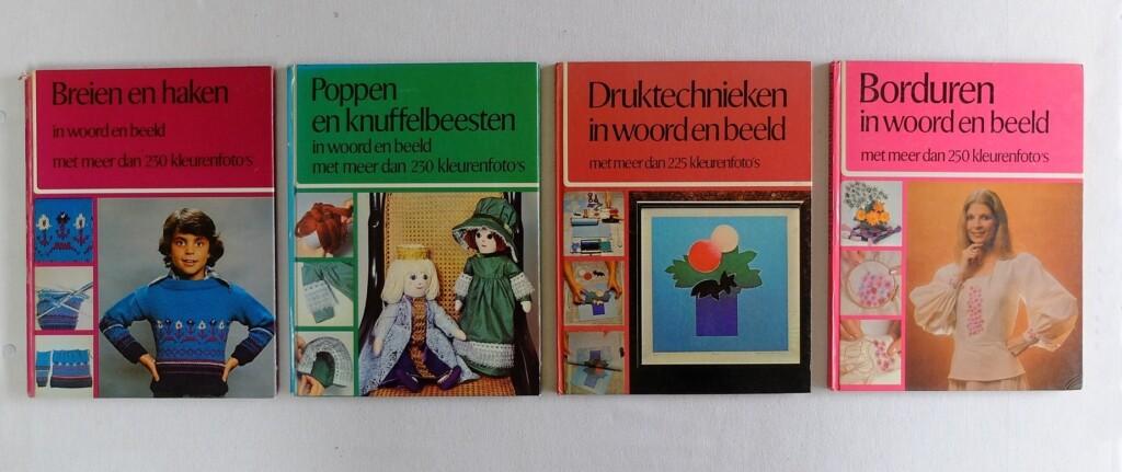 Vier hobbyboeken in woord en beeld