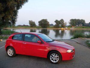 auto bij pont