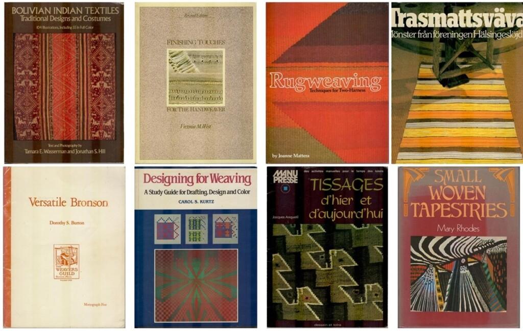 Acht weefboeken