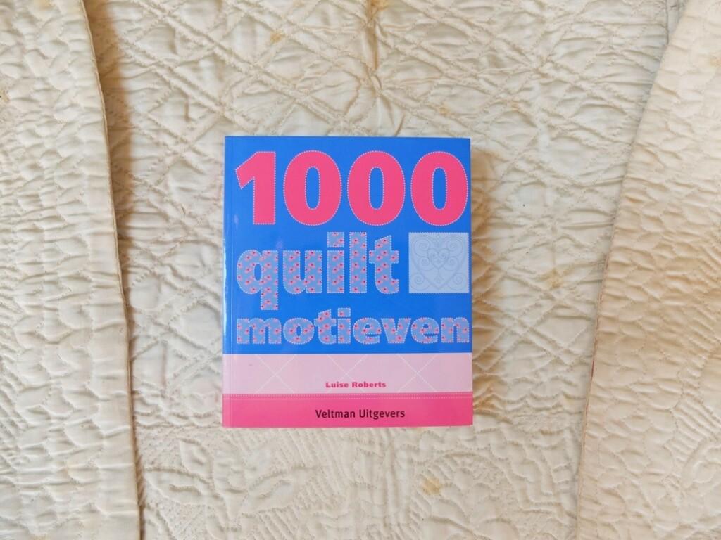 Boek 1000 quiltmotieven