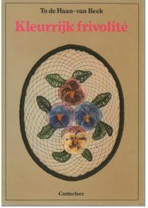 Boekje kleurrijk frivolite